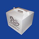 Коробка для торта 300х300х250 мм, фото 2