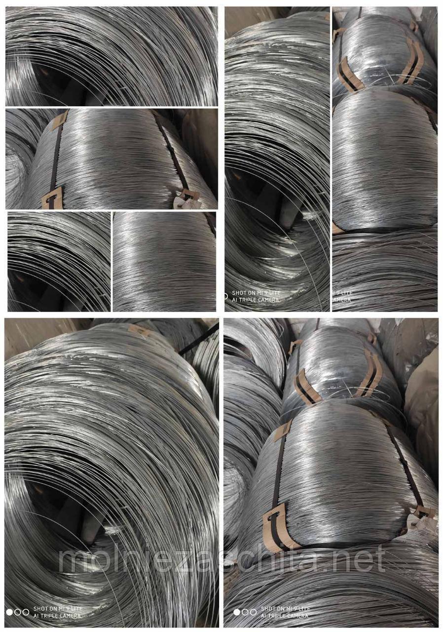 Проволока ф5,0мм термически обработанная (вязальная, мягкая) оцинкованная
