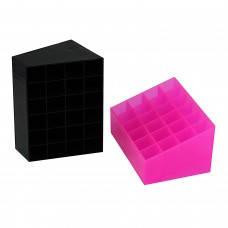 Подставка для помады розовая 24 секции