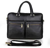 Вместительная кожаная сумка 7270A, фото 1