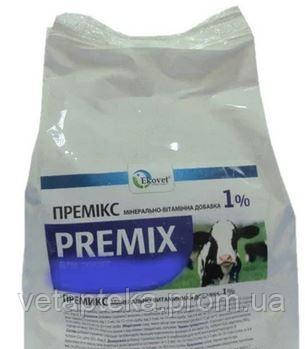 """Премикс """"Эковет""""для дойных коров, 1кг"""