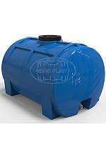 """Емкость горизонтальная однослойная RGO 150 литров (78x54x51) диаметр люка 16 см, штуцер 1/2"""""""