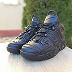 Чоловічі кросівки Nike Air More Uptempo (чорні) 1987, фото 8