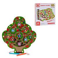 Деревянная игрушка Дерево - Лабиринт C 39989 магнитный