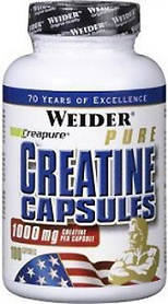 CREATINE capsules Weider 1000 mg (100 капс.)
