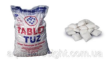 Таблетированная соль Mutlucan Tuz - 25 кг (Турция)