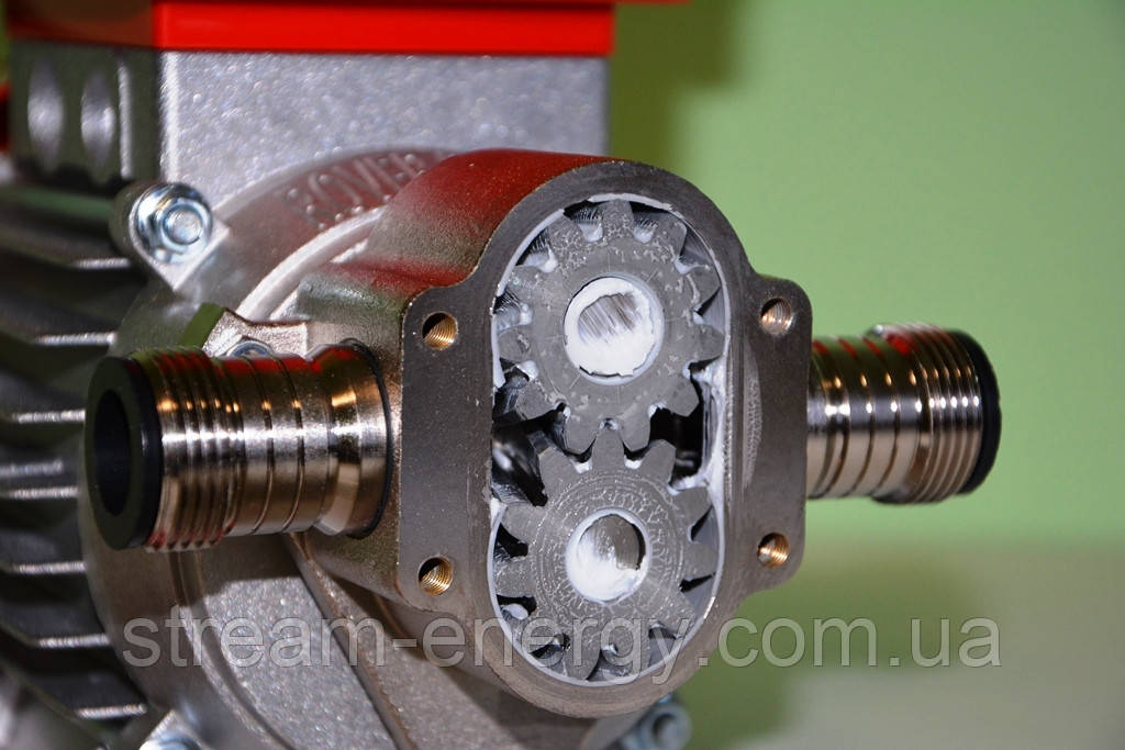 Шестерний насос для харчової промисловості Novax-G 20 HP 0.6 (900л/год) 380В