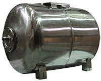 Гидроаккумулятор водоснабжения 80л горизонтальный нержавейка