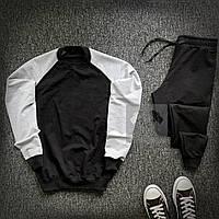 Спортивный костюм мужской Lampas CL x black-grey | весенний осенний ТОП качество, фото 1