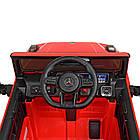 Детский электромобиль Mercedes Benz M 4179EBLR-3 красный, фото 4