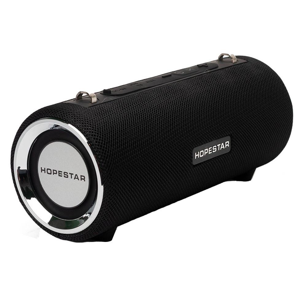 Портативная колонка HOPESTAR H39 ORIGINAL Bluetooth 21х8.5 см Черный