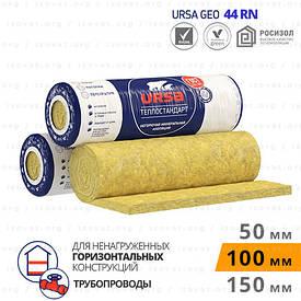 Утеплювач URSA (УРСА) ТЕПЛОСТАНДАРТ для горизонтальних ненавантажених конструкцій 100 мм