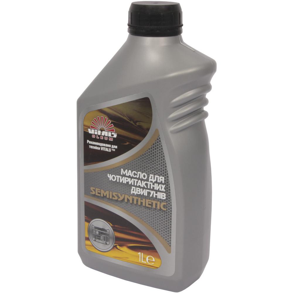 Масло для 4-х тактных двигателей полусинтетика 10W-40  Vitals Semisynthetic API SL/CF