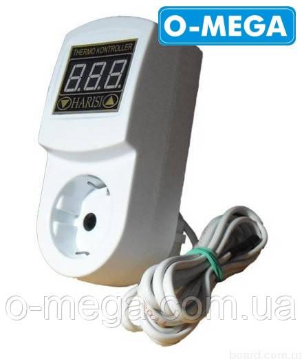 Терморегулятор цифровой МТР-2 с заземлением 16А (-55...+125)