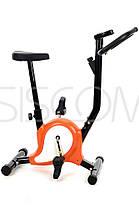 Велотренажер механический FunFit 878 Оранжевый, фото 3