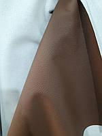 Мебельный кожзаменитель кожзам для обшивки мягкой мебели Польша ширина 140 см сублимация 2019 цвет коричневый