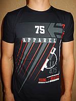Футболка мужская RBS, накатка стрейч коттон APPAREL 002 \ купить футболку мужскую оптом