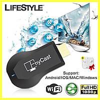 Медиаплеер для ТВ AnyCast MX18 Plus TV Stick + Подарок!
