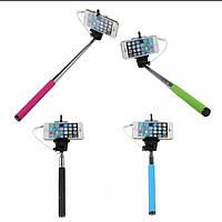 Монопод для селфи Selfie Stick Cable Take Pole, фото 1