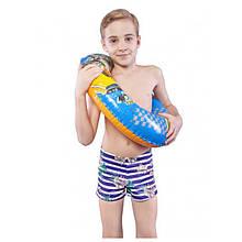 Детские плавки для мальчика Keyzi Польша NEW STYLE Синий