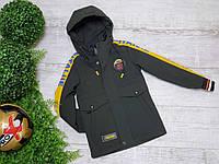 МАЛЬЧИК Куртка код 6-1002  размеры 28 - 36, фото 1