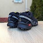 Чоловічі кросівки Salomon Speedcross 3 (чорно-сірі) 1988, фото 2