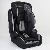 Детское автомобильное кресло JOY 71493 Черный с серым, система ISOFIX, группа 1/2/3, от 9-36 кг