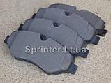 Колодки тормозные пер. Sprinter(906) /Vito(639) Brembo, фото 2