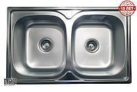 Кухонная мойка GALATI Fifika 2C Satin