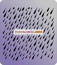 Трафарет Дощ