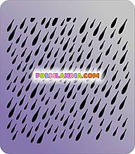 Трафарет Дождь