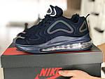Мужские кроссовки Max 720 (темно-синие) 8986, фото 3