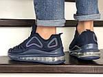 Мужские кроссовки Max 720 (темно-синие) 8986, фото 5