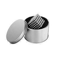 Неокуб Neocube 216 конструктор головоломка магнитные шарики, серебряный