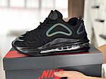 Чоловічі кросівки Max 720 (чорні) 8987, фото 2