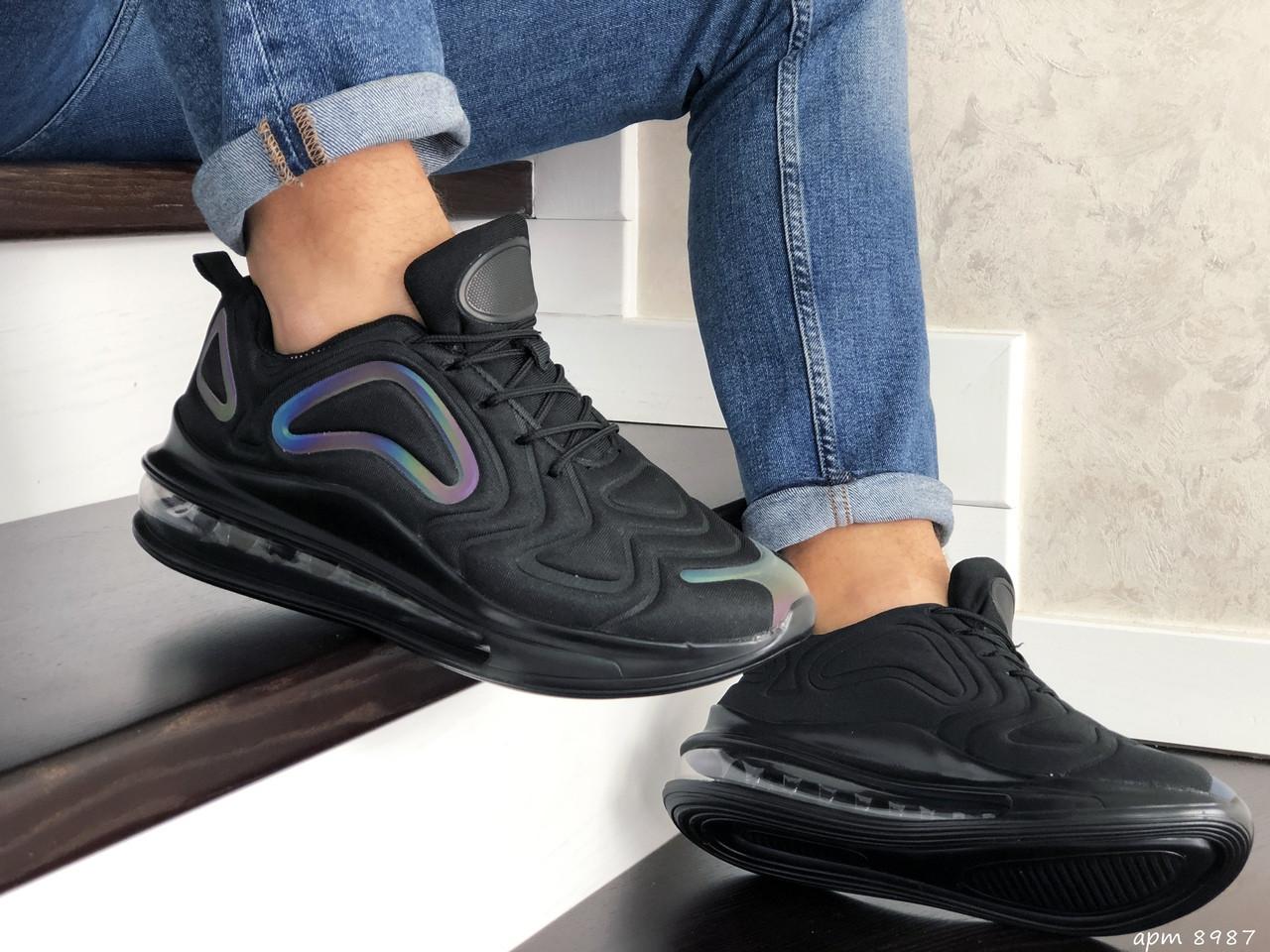 Мужские кроссовки Max 720 (черные) 8987