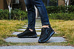 Мужские кроссовки Max 720 (черные) 8987, фото 4
