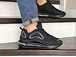 Мужские кроссовки Max 720 (черные) 8987, фото 5