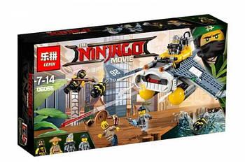 "Конструктор Ninjago Movie Lepin 06055 (аналог Lego 70609) ""Бомбардировщик Морской дьявол"" 364 детали"