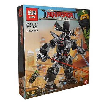 "Конструктор Ninjago Movie Lepin 06060 (аналог Lego 70613) ""Робот Гарм"" 806 деталей"