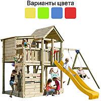Игровая детская площадка KBT Blue Rabbit PALAZZO + качели SWING для детей, фото 1