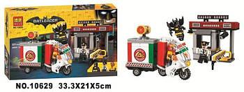 """Конструктор Bela Batman 10629 """"Специальная доставка от Пугала"""" (аналог Lego The Batman Movie 70910) 221 деталь"""