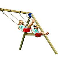 Модуль качели SWING для детской площадки KBT Blue Rabbit (модуль гойдалки для дитячого майданчика КБТ)