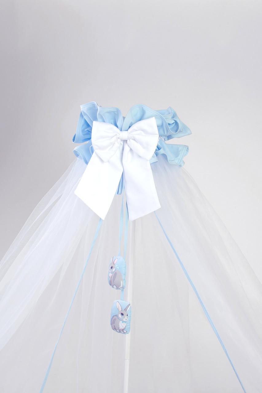 Балдахин Универсальный Veres Summer Bunny blue