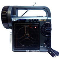 Фонарь радио приемник переносной Kemai MD 2811 U с FM, USB, Cardreader аккумуляторный, радиоприемник