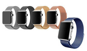 Ремешки Milanese Loop для Apple Watch 38/40