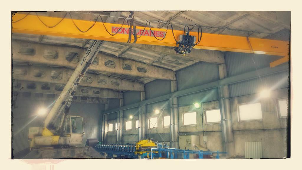 """Строительство подкрановой эстакады. Производственных цех """"Арсенал-Центр"""" в г. Сумы"""