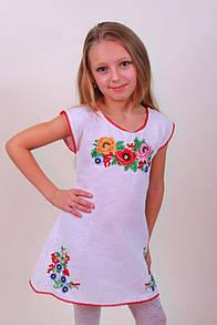 Вышитый сарафан платье для девочек Дианка