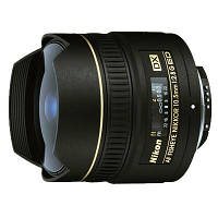 Объектив Nikon Nikkor AF 10.5 mm f/2.8G IF-ED DX FISHEYE (JAA629DA)