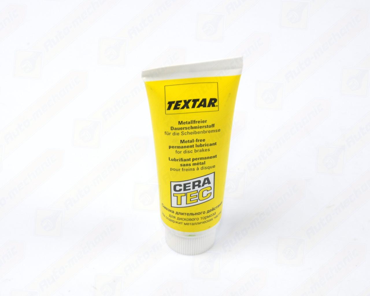 """Смазка для суппортов TEXTAR """"CERA TEC"""" - TEXTAR (Германия) - 81000400"""